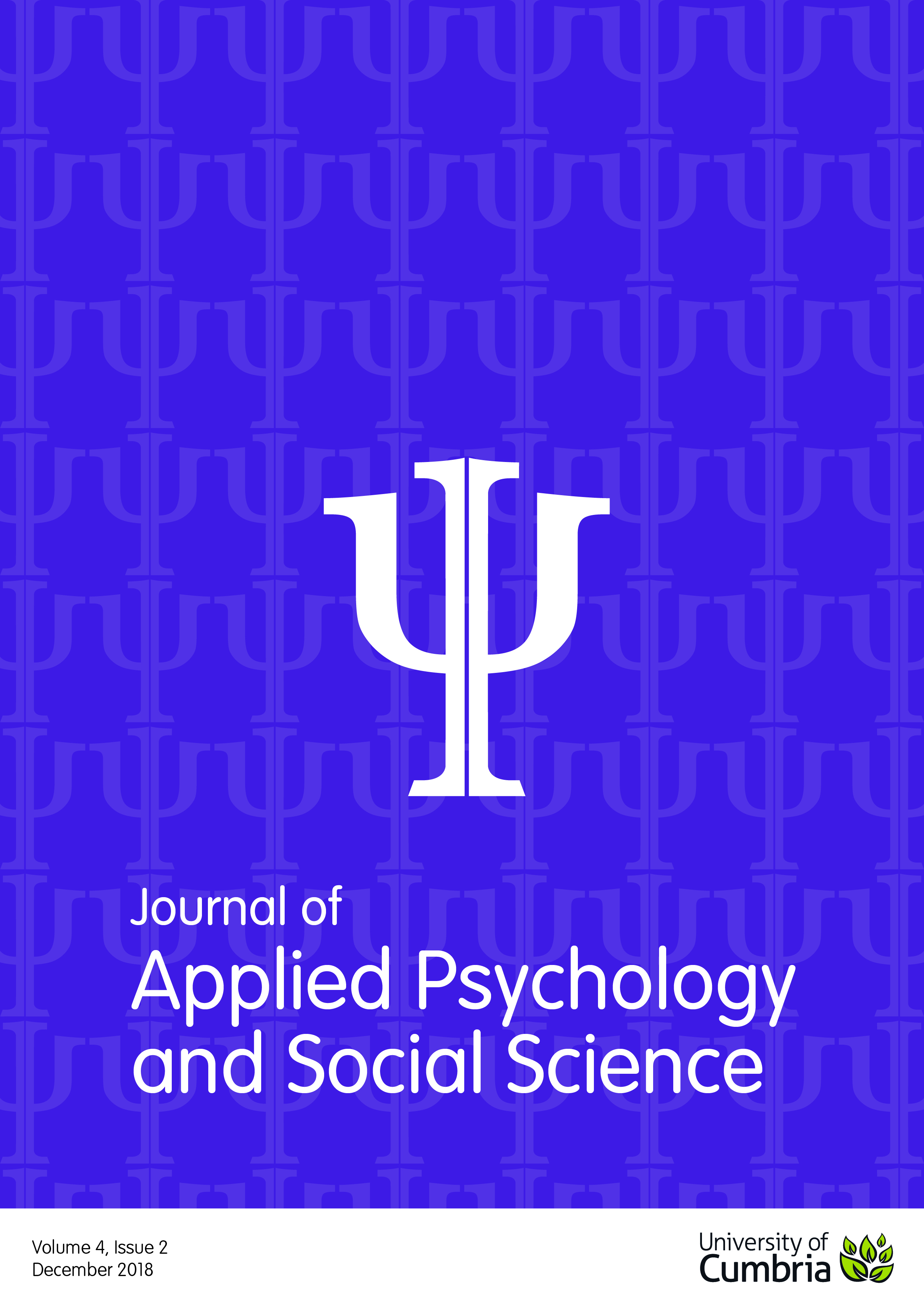 Journal of Applied Psychology and Social Science